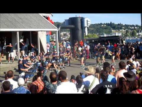 Seattle Seahawks Drumline (Blue Thunder)