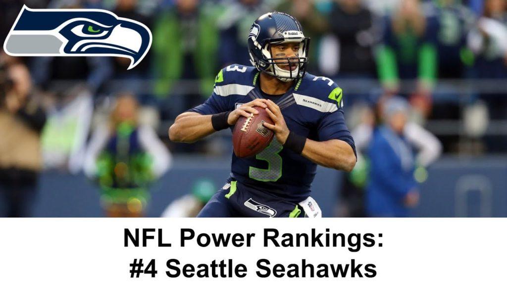 NFL Power Rankings #4 Seattle Seahawks