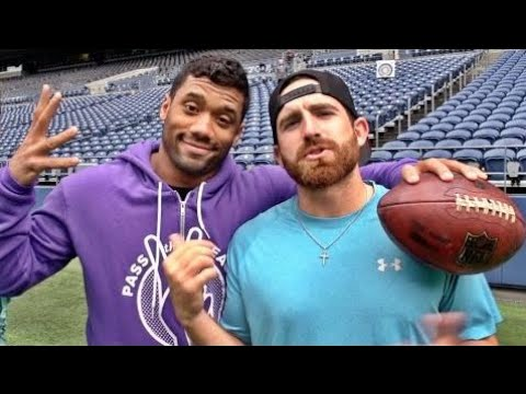 Seattle Seahawks Edition ft. Russell Wilson   Dude Perfect Top Dude Perfect tricks collection 2017