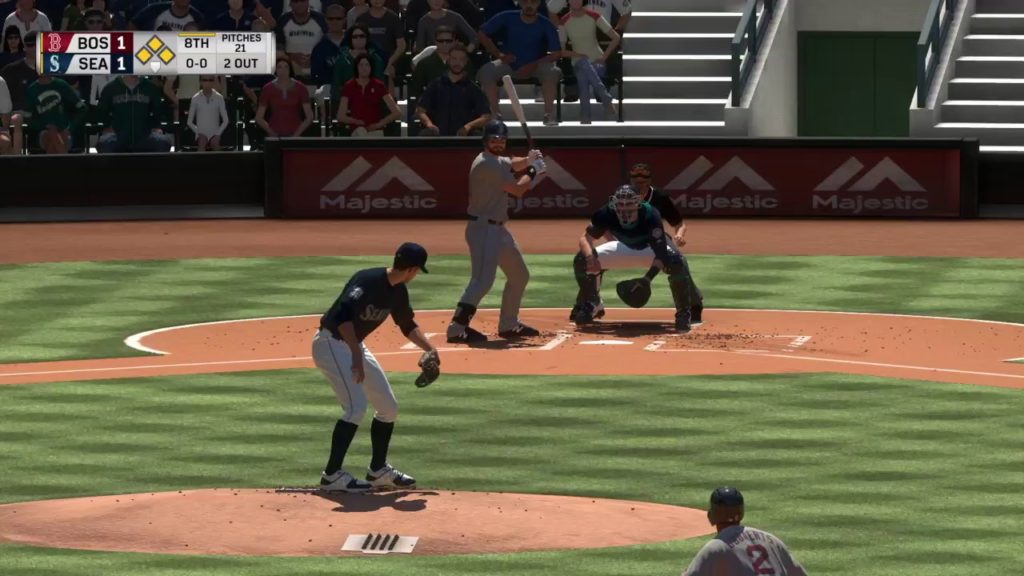 MLB The Show 17: Boston Red Sox vs. Seattle Mariners (07/26/17)