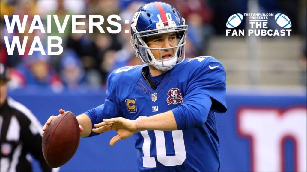 How To Play Fantasy Football: Waiver Wire WAB Points