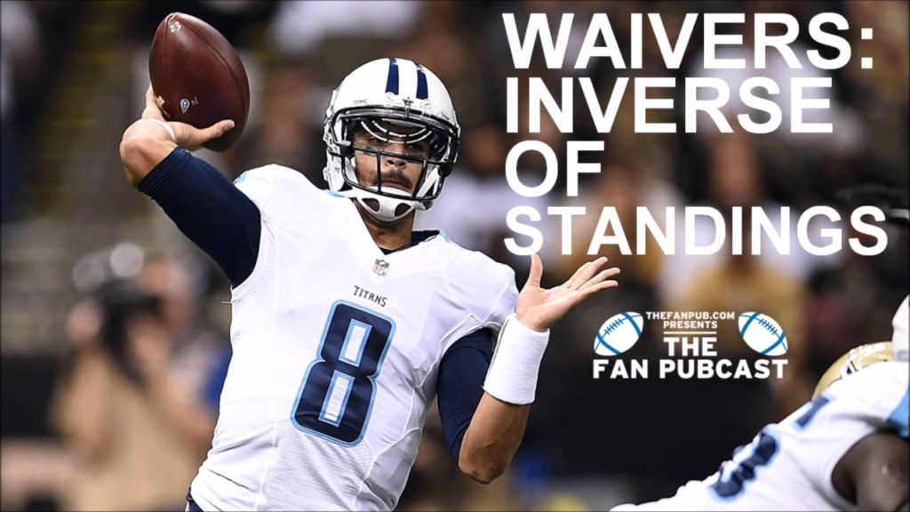 How To Play Fantasy Football: Waiver Wire Inverse order of standings