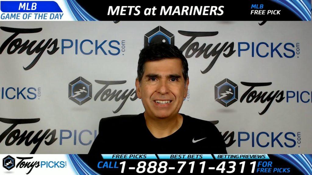 New York Mets vs. Seattle Mariners Free MLB Baseball Picks Predictions July 28th, 29th and 30th 2017
