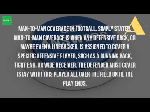 What Is A Man To Man Defense In Football?