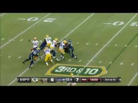 Aaron Rodgers Highlights vs. Seahawks (2012, 2014-2016)