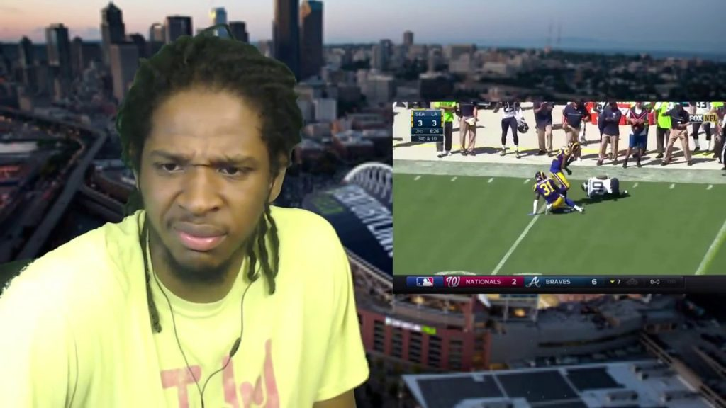 OH NO HE DIDN'T JUST DO THAT! Seahawks @ Rams   NFL Week 2    2016   2017    Full Game Highlights