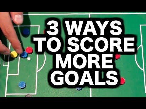 How to become a better striker in football | How to play striker forward | How to score more goals