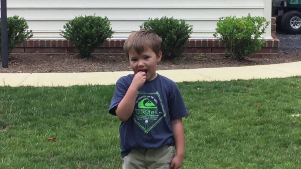 Teaching a 6 yr old how to play football (how to pass) part 2