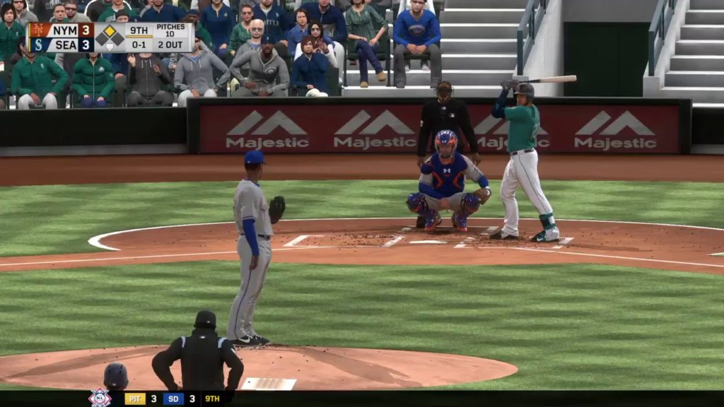 MLB The Show 17: New York Mets vs. Seattle Mariners (07/28/17)