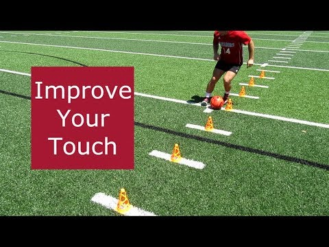 3 Soccer Drills / Exercises To Improve Your Touch