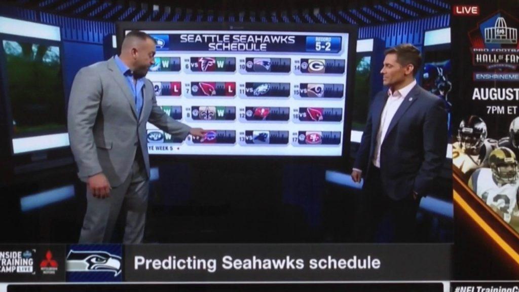 ( Seahawks ) Inside Training Camp: Predicting Seahawks Schedule