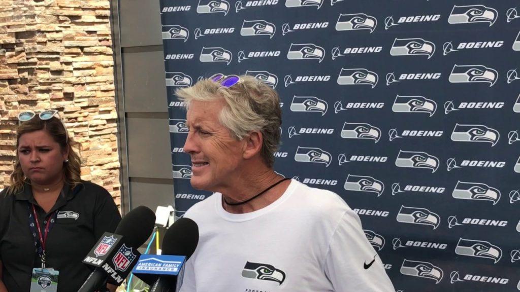 Pete Carroll on Malik McDowell's ATV accident, Seahawks future uncertain