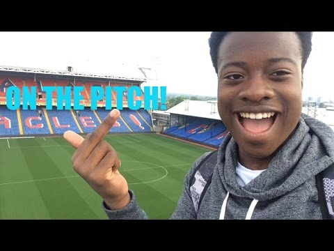 PLAYING FOOTBALL INSIDE CRYSTAL PALACE!!-SNEAKING INSIDE SELHURST PARK