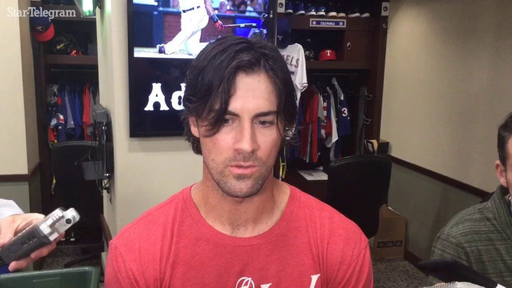 Cole Hamels dissapointed he couldn't slow down Mariners in fourth