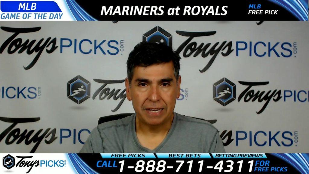 Seattle Mariners vs. Kansas City Royals Free MLB Baseball Picks and Predictions 8/3/17