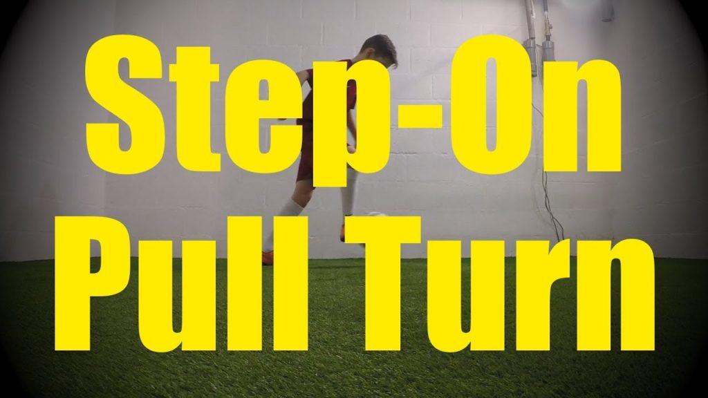Step-On Pull Turn – Wall Work Drills – Soccer (Football) Training for U10-U11