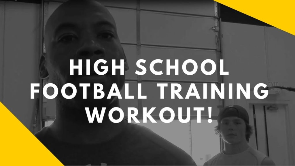 Quick Barbell Football Training Workout