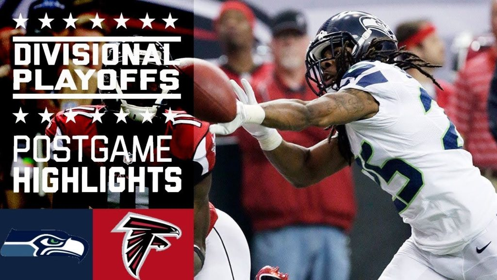Seattle Seahawks vs Atlanta Falcons highlights 2017.01.14
