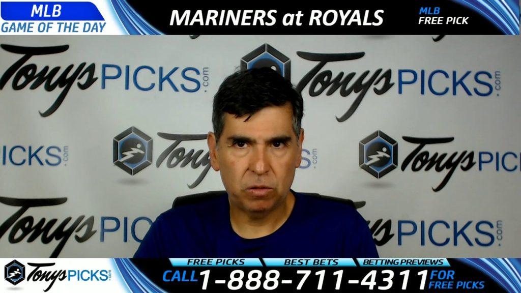 Seattle Mariners vs. Kansas City Royals Free MLB Baseball Picks and Predictions 8/4/17