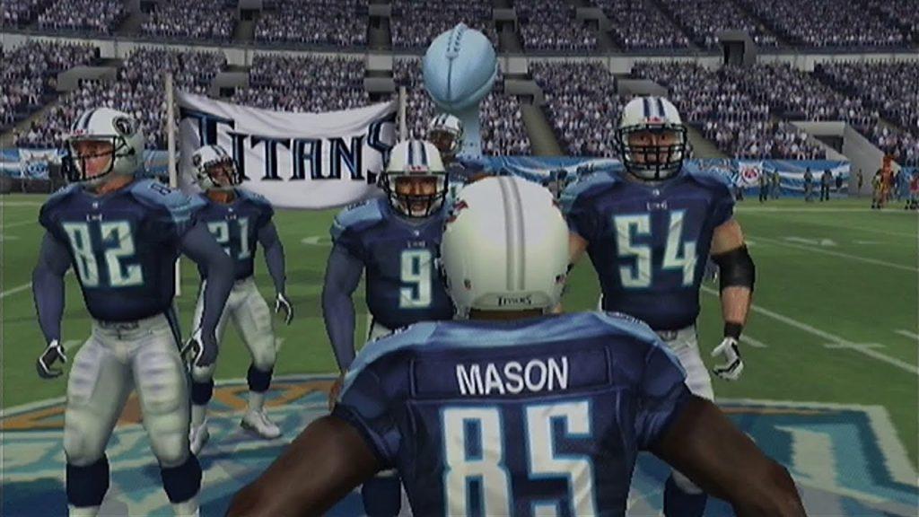 Madden 2005 Superbowl Titans vs Seahawks