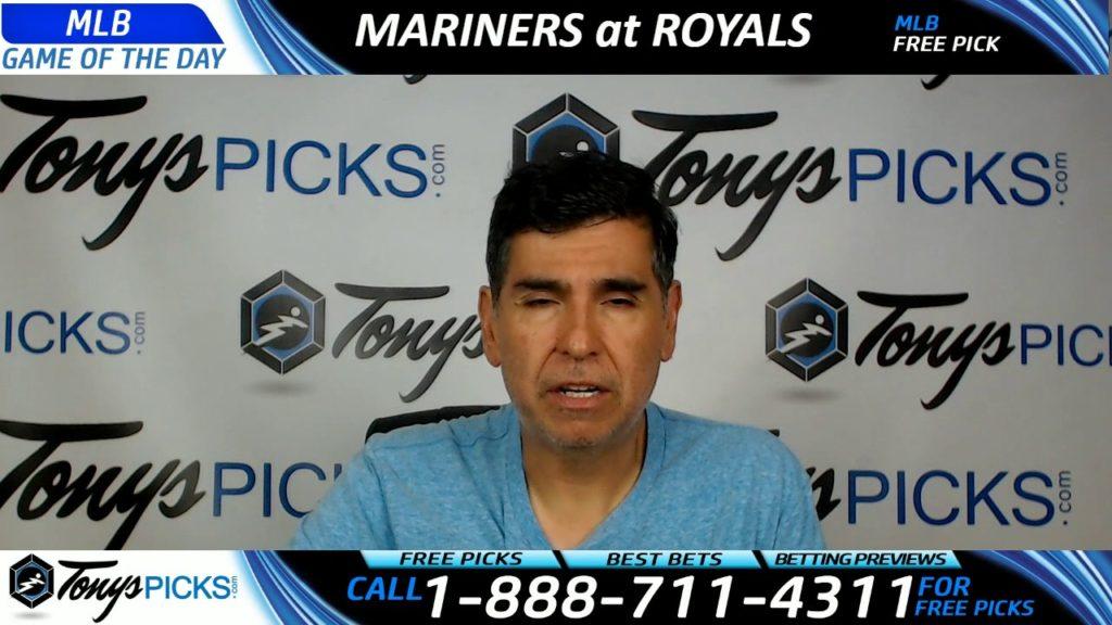 Seattle Mariners vs. Kansas City Royals Free MLB Baseball Picks and Predictions 8/5/17