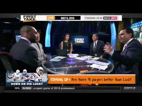 ESPN First Take – Doug Baldwin on Seahawks and Russell Wilson