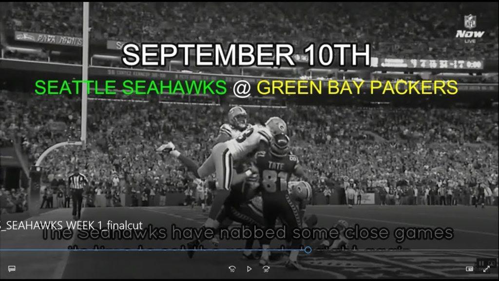 Week 1 – Seahawks vs Packers – Hype Video – 2017 Green Bay Packers (MIC'D SERIES)