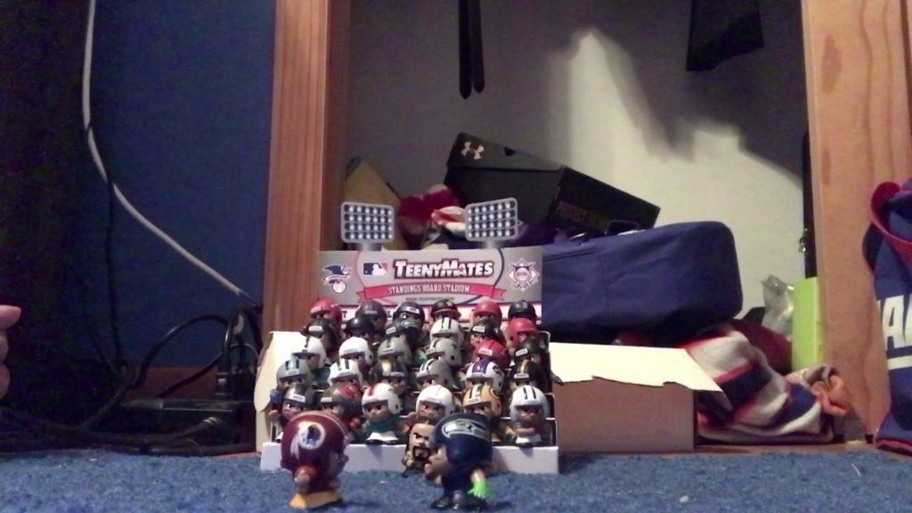 NFL Teenymate Redskins vs Seahawks | Week 1