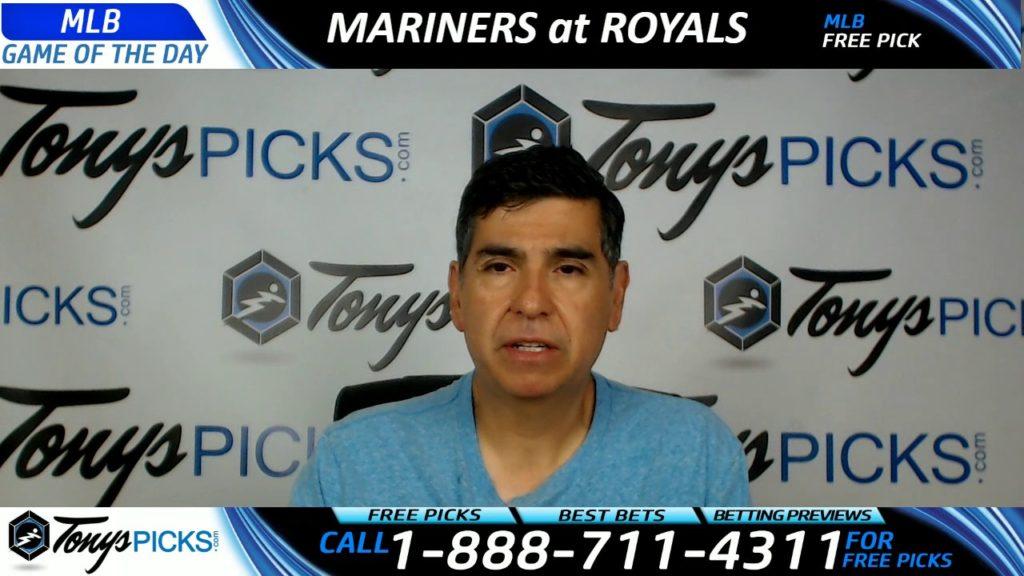 Seattle Mariners vs. Kansas City Royals Free MLB Baseball Picks and Predictions 8/6/17