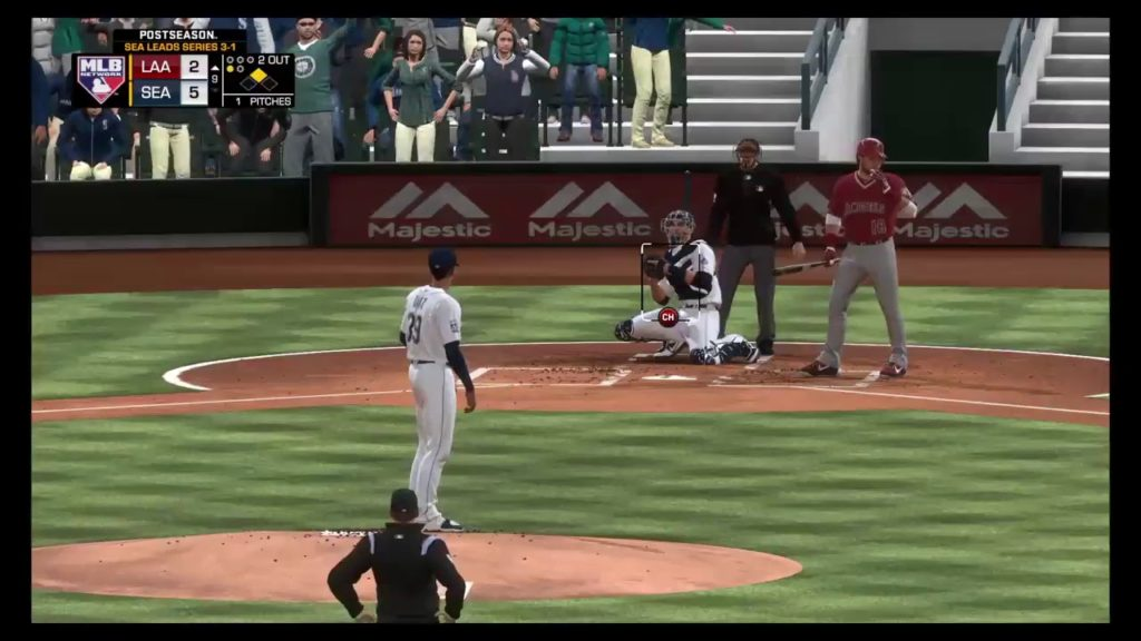 Seattle 3-1!! ALCS Game 5 Angels @ Mariners!! Take 2!!!