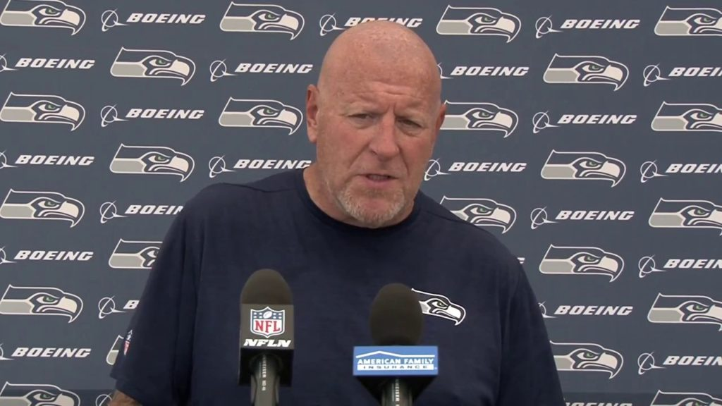 Seahawks Offensive Line/Assistant Head Coach Tom Cable Training Camp Press Conference