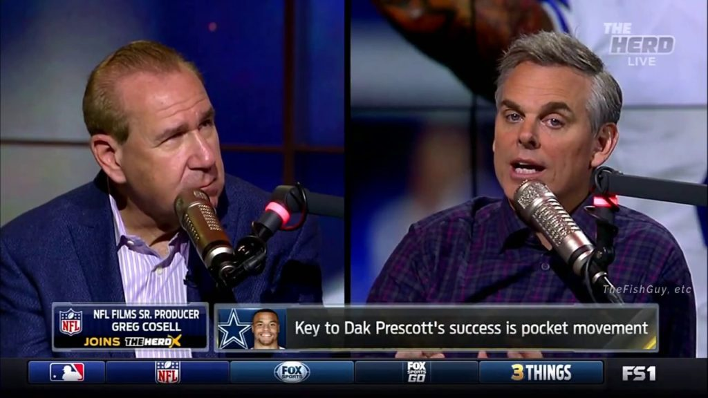 THE HERD – Breaking Down 2017-18 NFL Quarterbacks With Cowherd & Cosell.