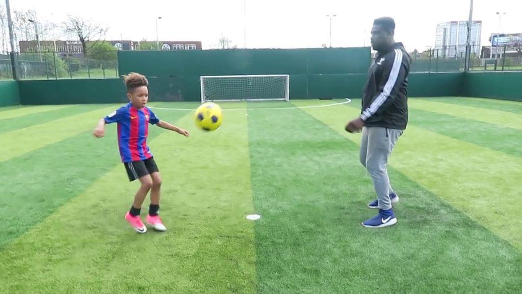 How To Play Like NEYMAR!!   Tekkerz Kid Football Drills