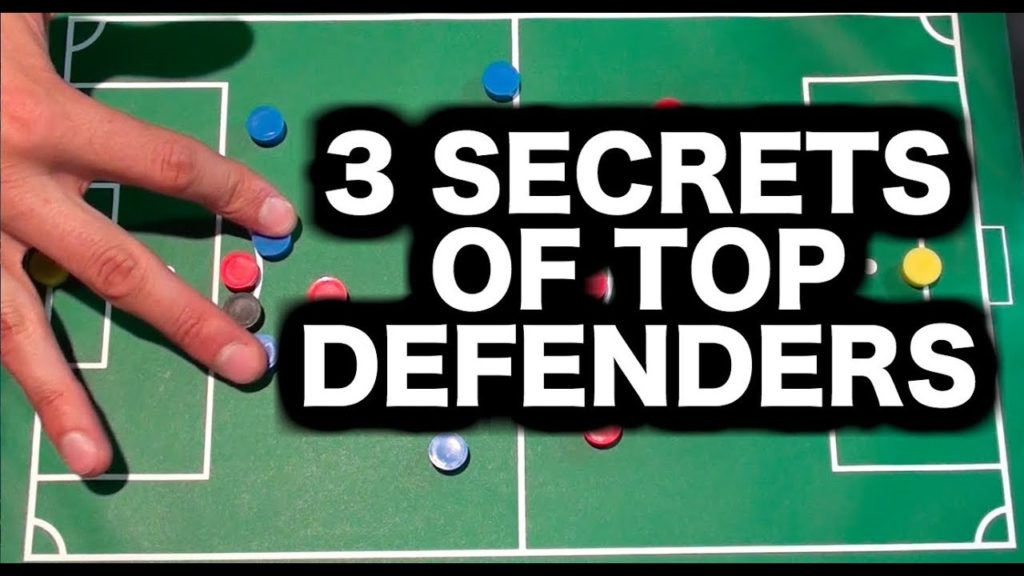 How to become a better defender in soccer   How to defend in football   How to be a good defender