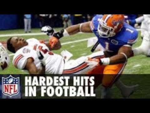 Hardest Hits in Football