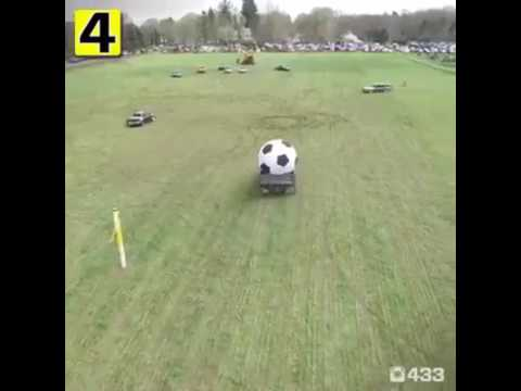 How to play football without feet