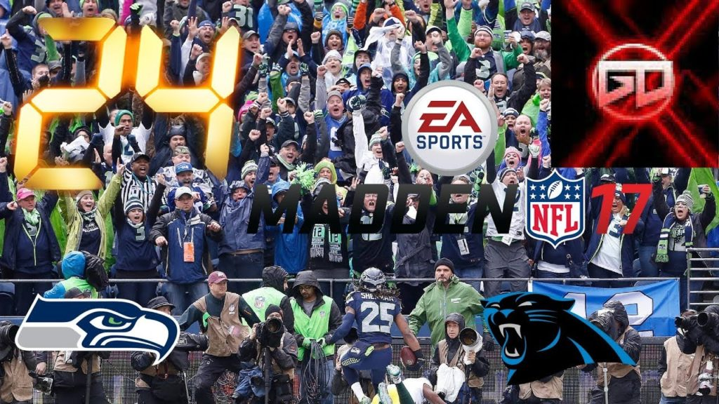 Seattle Seahawks Madden 17 franchise mode| PSW2 5 TURNOVERS IN ONE GAME! BY WHO? Seahawks@panthers
