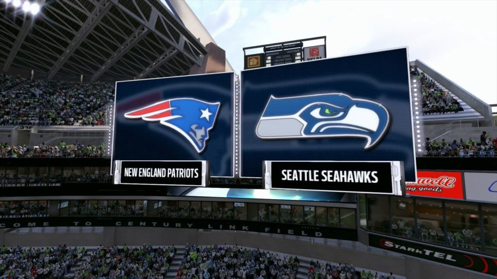 Madden NFL 17 – New England Patriots vs Seattle Seahawks