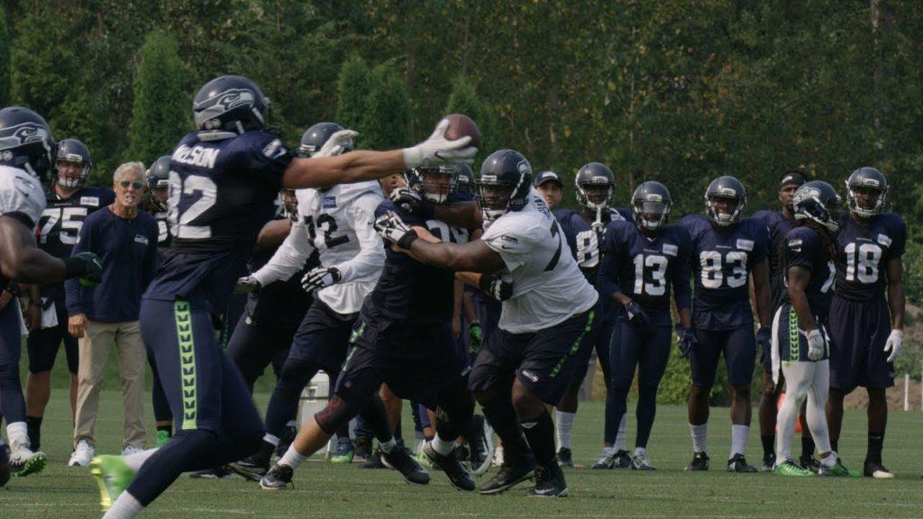 Seahawks Camp Highlight: Luke Willson One-Handed Catch
