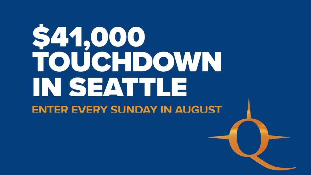 Touchdown in Seattle Northern Quest Resort & Casino