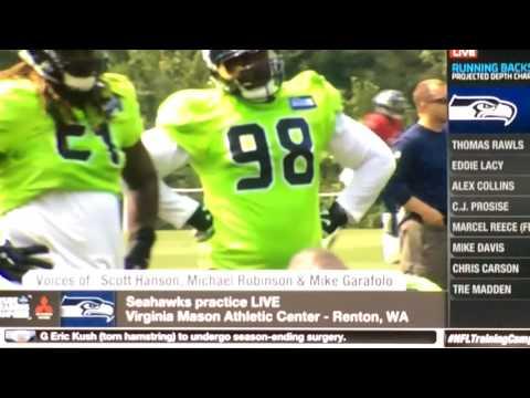 ( Seahawks ) Inside Training Camp: Seahawks Practice Today