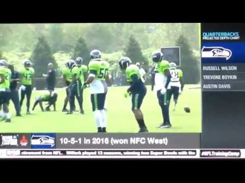 ( Seahawks ) Inside Training Camp: Practice Today