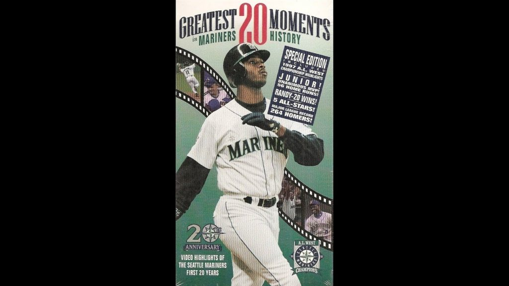 """20th Anniversary Seattle Mariners: """"The 20 Greatest Moments in Mariners History"""" (1997)"""