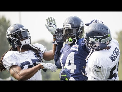 There's been a different richard sherman in seahawks camp this year, and there's good chance he sta