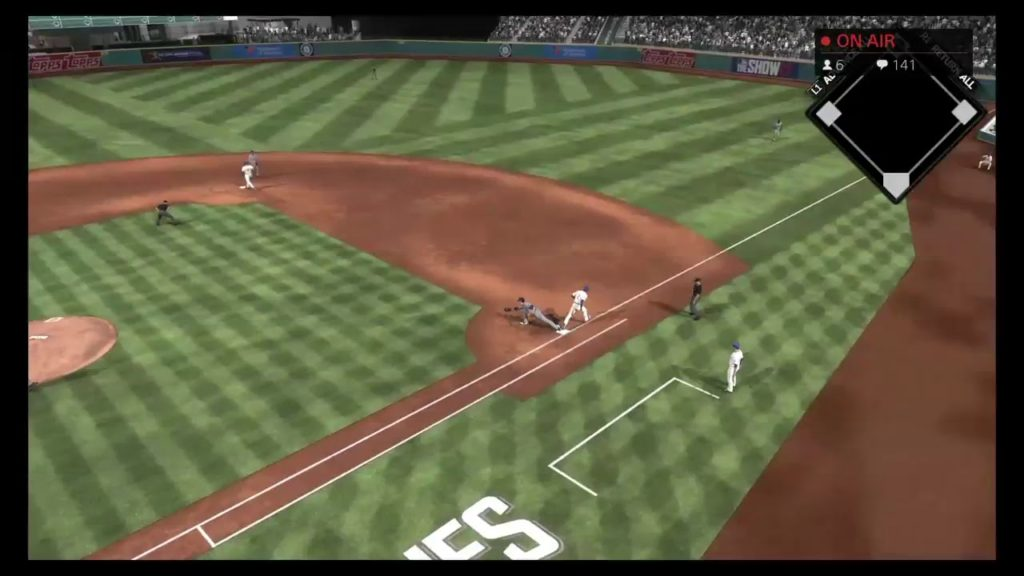 MLB The Show 17 Give Away!!! Dodgers @ Mariners Game 4!!!! Elimination game!?!?