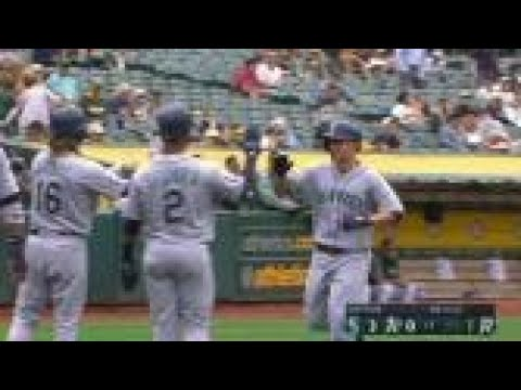 Highlights Mariners – Seager belts a three-run homer in the 1st
