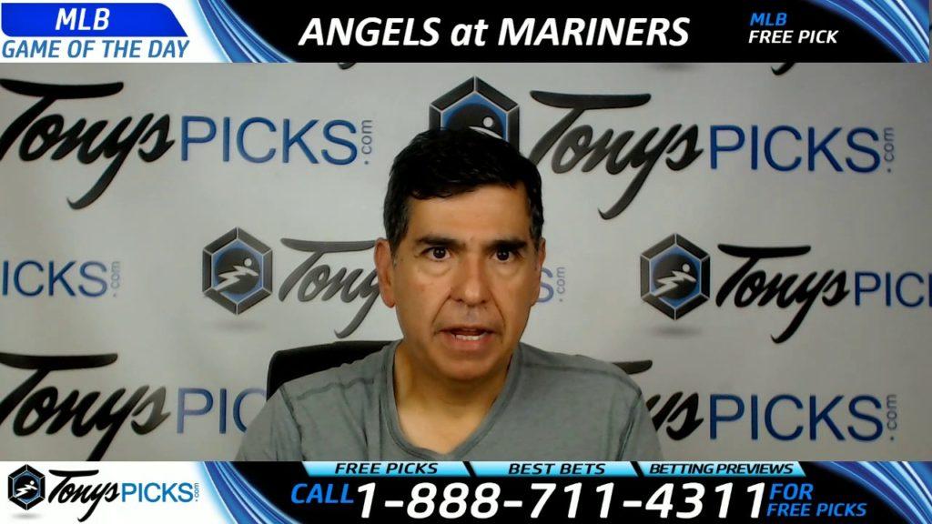 LA Angels vs. Seattle Mariners Free MLB Baseball Picks and Predictions 8/10/17