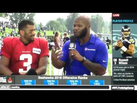 ( Seahawks ) Inside Training Camp: Russell Wilson joins the show