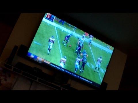 Day 4 – Watching Football