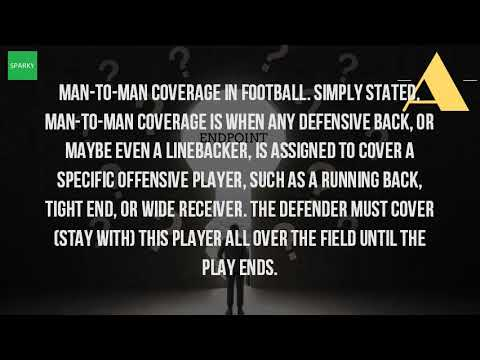 What Is Man To Man Defense In Football?